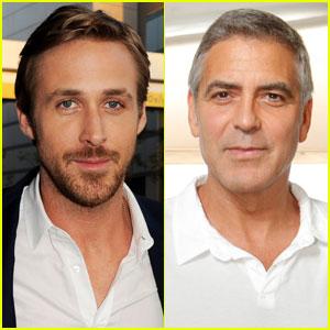 George Clooney Makes Ryan Gosling Wet His Pants