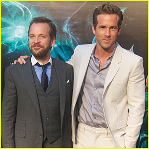 Ryan Reynolds: 'Green Lantern' Madrid Premiere with Peter Sarsgaard!