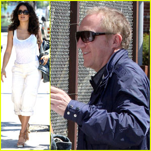 Salma Hayek &amp; Francois-Henri Pinault: United Front