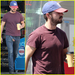 Shia LaBeouf: Quick Coffee Stop