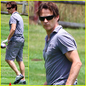 Stephen Moyer: Golfing in Malibu!