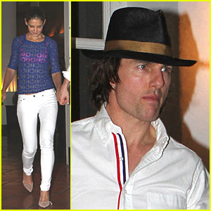 Tom Cruise & Katie Holmes: Date Night in Miami!
