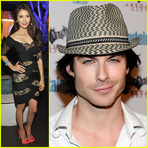 Ian Somerhalder & Nina Dobrev: Comic-Con Couple