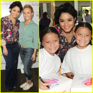 Vanessa Hudgens & Hayden Panettiere: Wave for Change!