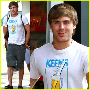 Zac Efron: Urban Outfitters with Rumer & Ryan!