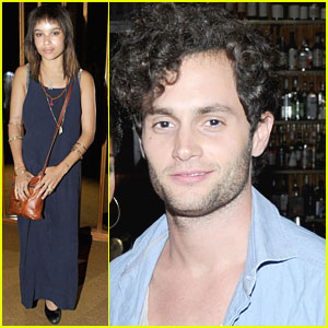 Zoe Kravitz & Penn Badgley: 'Friends with Benefits' Screening!