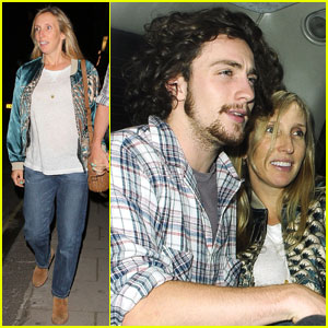 Aaron Johnson & Sam Taylor-Wood: Claridge's Couple