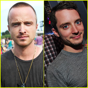 Aaron Paul & Elijah Wood: Lollapalooza Lads