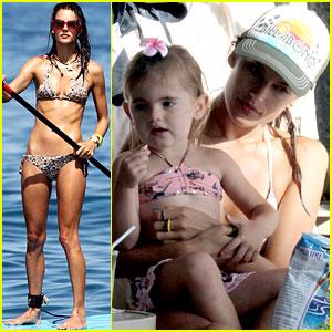Alessandra Ambrosio: Hawaiian Vacation with the Family!