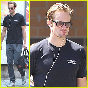 Alexander Skarsgard: Monday Workout in Manhattan