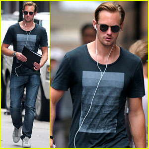 Alexander Skarsgard: Repeat Outfit Offender!