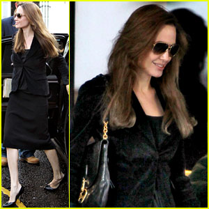 Angelina Jolie: Lovely in London!