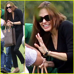 Angelina Jolie Returns to Richmond