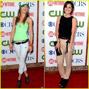 AnnaLynne McCord & Jessica Stroup: TCA Twosome!