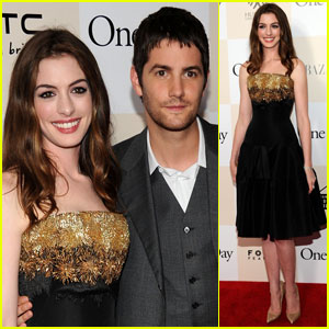 Anne Hathaway: 'One Day' Premiere with Jim Sturgess!