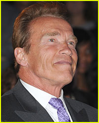Arnold Schwarzenegger Wears 'I Survived Maria' Shirt