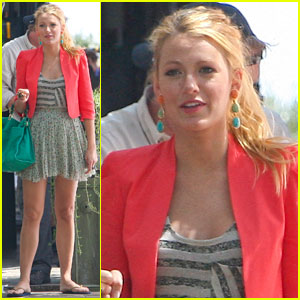 Blake Lively & Kaylee DeFer: Gossip Girls!