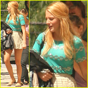 Blake Lively Heads Home After 'Gossip Girl'