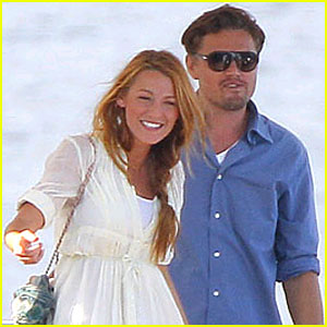 Leonardo DiCaprio & Blake Lively: Wildlife Park Down Under!