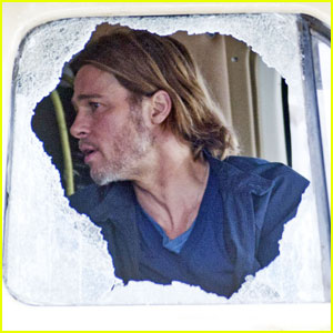 Brad Pitt: 'World War Z' Camper Scenes!