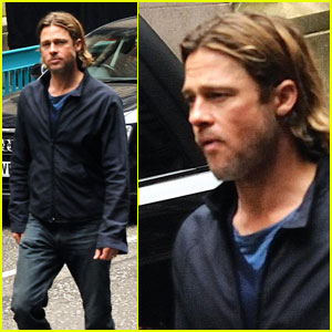 Brad Pitt Rescues Injured 'World War Z' Extra