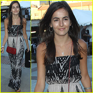 Camilla Belle Checks Out Coldplay