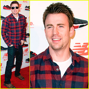 Chris Evans: New Balance Experience Store Opening