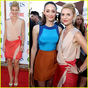 Claire Danes & Emmy Rossum: Showtime TCA Party!