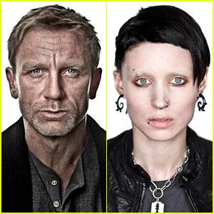 Daniel Craig & Rooney Mara: 'Dragon Tattoo' Character Portraits!