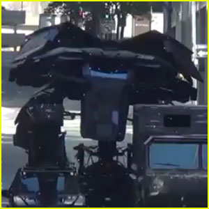 'The Dark Knight Rises': Batman's New Vehicle Revealed?