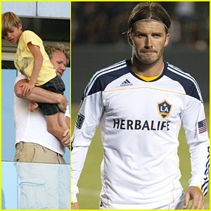 David Beckham: Galaxy Victory!