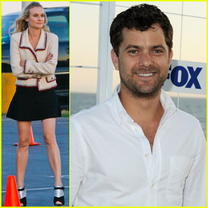 Diane Kruger & Joshua Jackson: Fox All-Star Party Pair