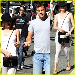 Diane Kruger &#038; Joshua Jackson: Midday Movie!