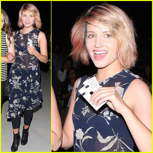 Dianna Agron: 'Glee' Goes to See Adele!