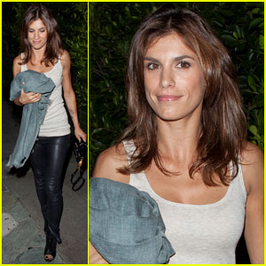 Elisabetta Canalis: Girls' Night Out at Ago!