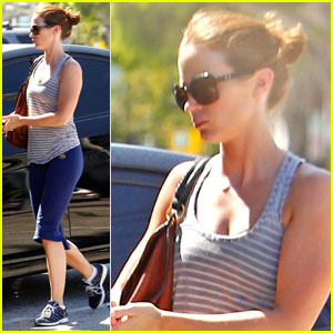 Emily Blunt: West Hollywood Workout