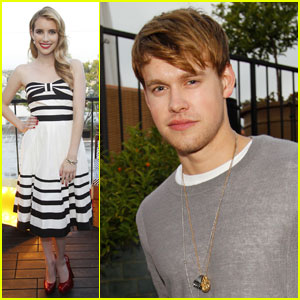 Emma Roberts: Westward with Chord Overstreet!