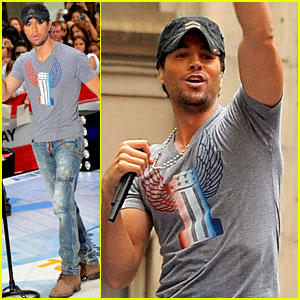 Enrique Iglesias: 'Today Show' Performance!
