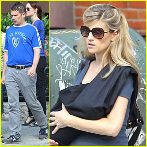 Ethan Hawke: Family Day in NYC!
