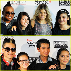 Fergie: New Peapod Adobe Youth Voices Academy!