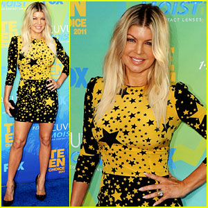 Fergie: Teen Choice Awards with Black Eyed Peas!