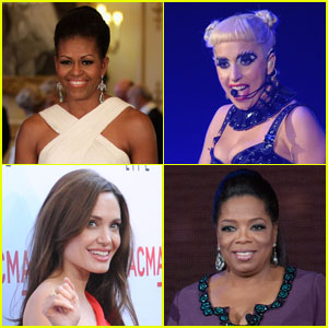 Michelle Obama & Lady Gaga: Forbes Most Powerful Women!
