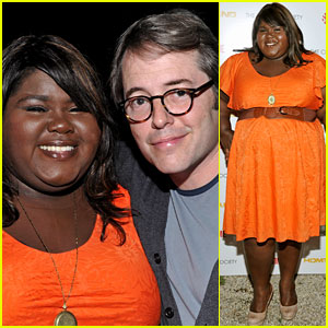 Gabourey Sidibe: 'Homeland' Premiere with Matthew Broderick!