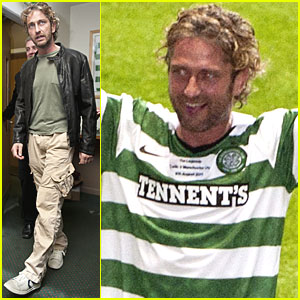 Gerard Butler: Celtic Legends Match for Charity!