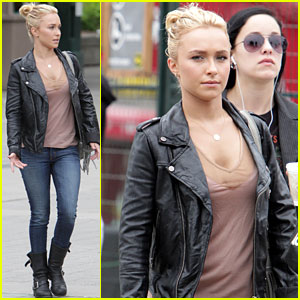 Hayden Panettiere Keeps it Cool in Canada