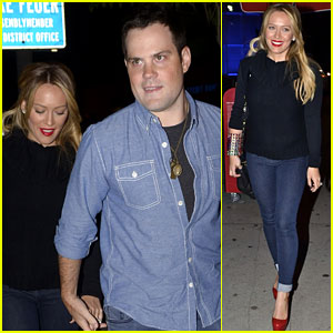 Hilary Duff: Dinner Date with Mike Comrie!