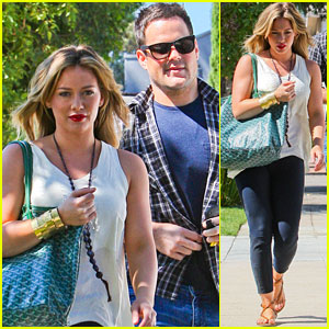 Hilary Duff & Mike Comrie: Party Pair!