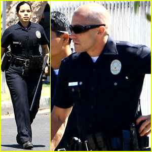 Jake Gyllenhaal: 'End of Watch' with America Ferrera!