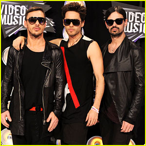 Jared Leto: MTV VMAs 2011 with 30 Seconds to Mars!