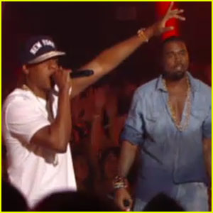 Jay-Z & Kanye West Perform 'Otis' at MTV VMAs 2011